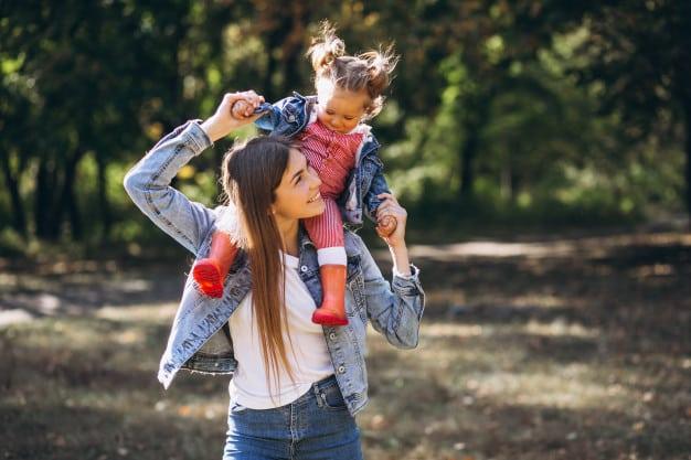 Prestación Madre con niña