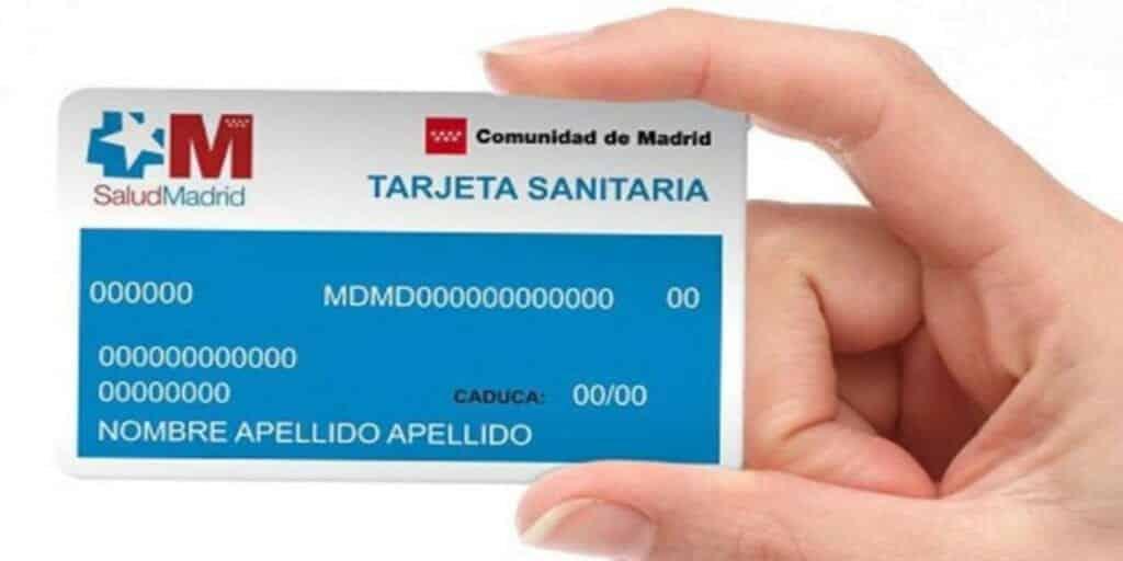 número tarjeta sanitaria seguridad social