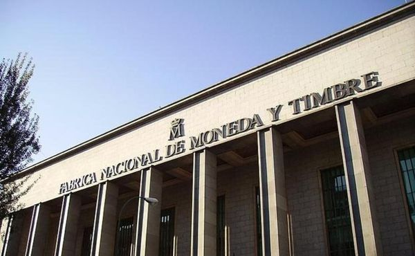 Fachada Fabrica nacional de moneda y timbre de España