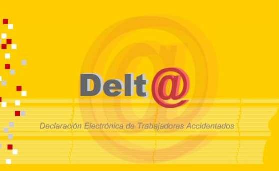 Acceso a la plataforma Delta de declaración electrónica de trabajadores accidentados